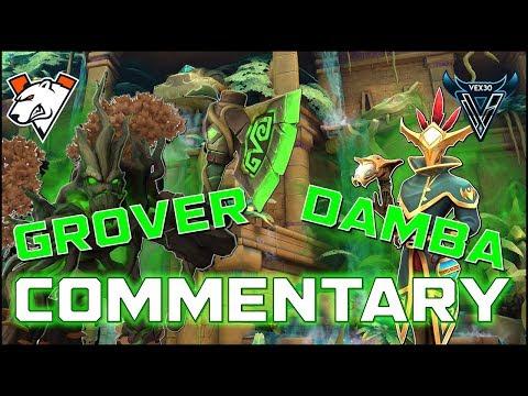 Paladins Pro | Mal'Damba/Grover Commentary!