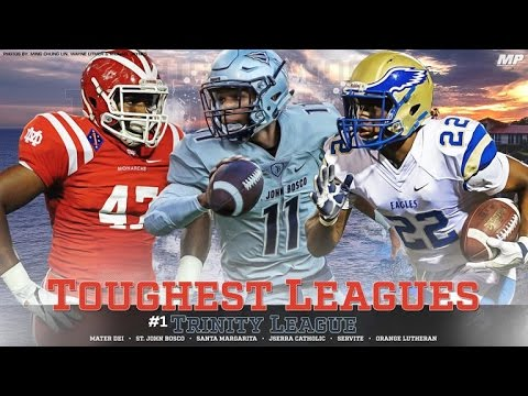 Top 10 Leagues in High School Football