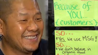 Restaurant Owner Loses It Over Health Nuts