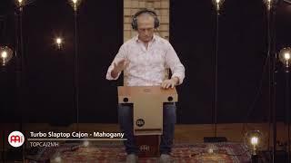 MEINL Percussion Turbo Slaptop Cajon Mahogany - TOPCAJ2MH