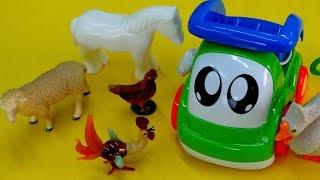 Английский для детей с Мэри! Животные на ферме - Видео для детей