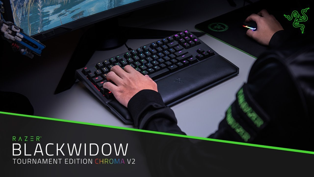 179099c71a1 The Razer BlackWidow Tournament Edition Chroma V2 - YouTube