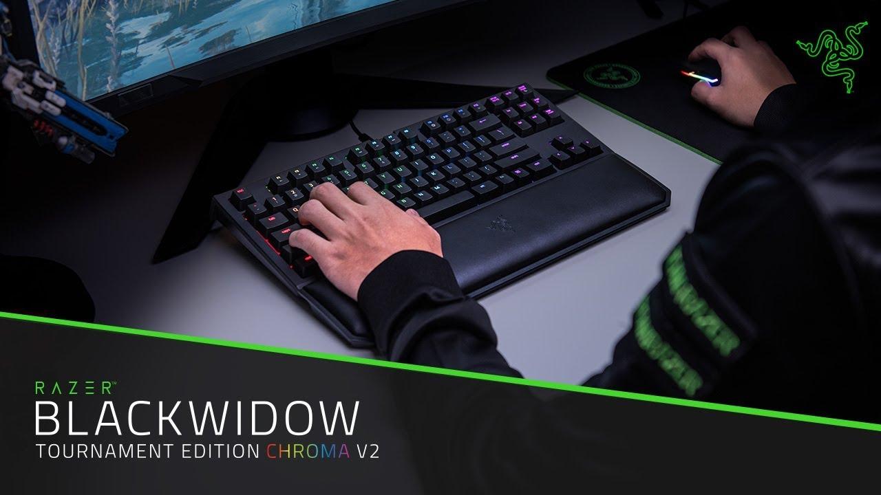 95d1dfcf231 Mechanical Gaming Keyboard - Razer BlackWidow Tournament Edition Chroma V2
