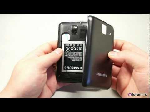 Samsung Wave M. Внешний вид