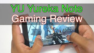 YU Yureka Note Gaming Review - Is there any Overheating issue?