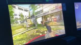 Hands-on with G-Sync 360Hz monitor