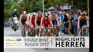 1. Bitburger 0,0% Triathlon-Bundesliga - Binz 2017: Highlights Herren