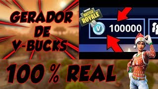 VBUCKS GENERATOR | 100% REAL | FUNCTIONAL AND EASY METHODS (FORTNITE)