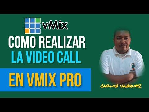 vMix 19. 0. 0.28 Como realizar la Video Call