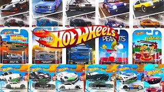 New 2018 Hot Wheels A Case Cars, Modern Classics Series And More!