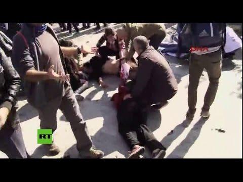 PRIMERAS IMÁGENES: Al menos 20 muertos tras un atentado en la capital de Turquía