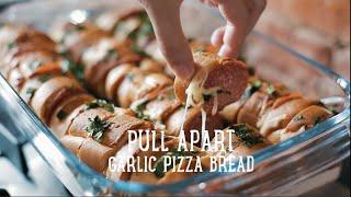 Pull Apart Garlic Pizza Bread [ba Recipes]