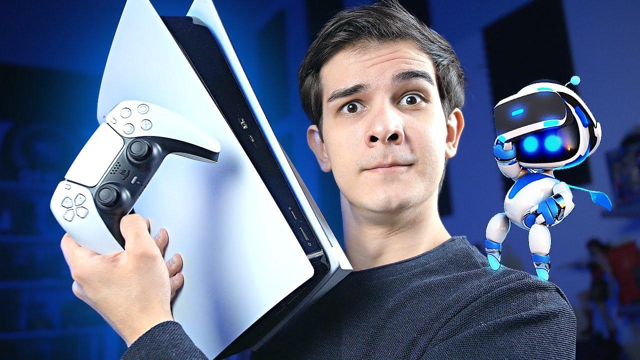 PlayStation 5 РАСПАКОВКА И ПЕРВЫЕ ЭМОЦИИ