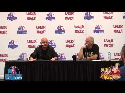Cincinnati Comic Expo TV 2015 James Tolkan panel