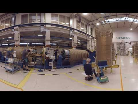 Siemens Transformer Factory Weiz - virtual tour - 360° video