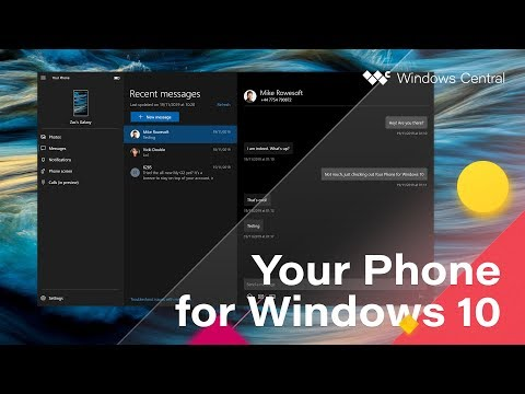 This Is 'Your Phone' For Windows 10 – Sync Your Android To Your PC!