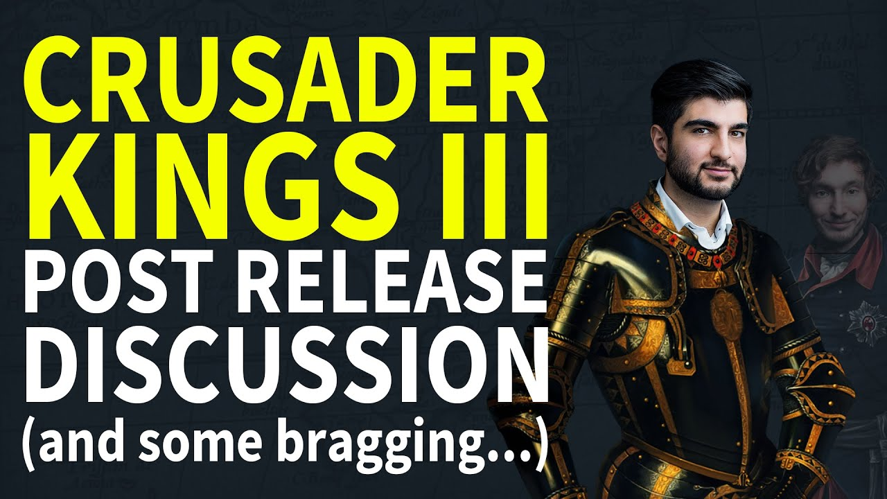 Crusader Kings III Release - Paradox Podcast - The Business of Video Games