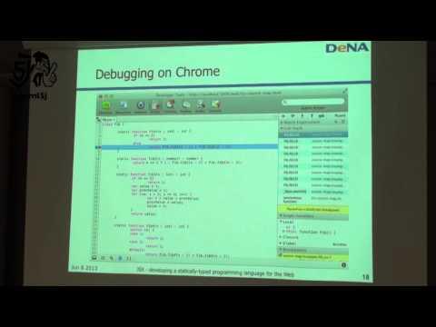 JSX (High performance JS game framework) @ W3C Developer Meetup - Tokyo