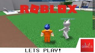 IM IN A PRISON! HELP ME! | Roblox | LJ Games