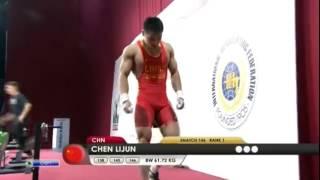 CHEN Lijun 3s 146 kg cat. 62 World Weightlifting Championship 2013