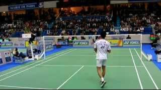 Badminton Lin Dan vs Taufik Hidayat in Perfect Angle 1 2