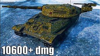 Об'єкт 705А як грають ТОП статисти   10600+ dmg   World of Tanks кращий бій на тт 10 рівня