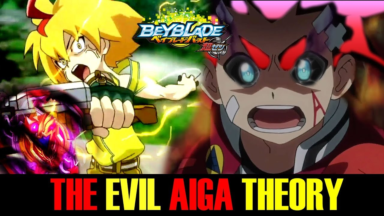 EVIL AIGA AKIBA THEORY! BEYBLADE BURST CHO-Z TURBO EPISODE 25 REVIEW