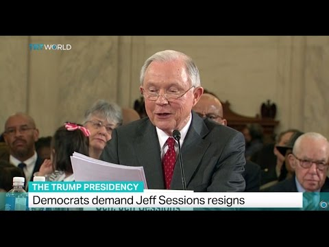 The Trump Presidency: Democrats demand Jeff Sessions resign