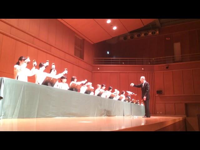 ハンドベル Resonances and Alleluias, Kobe YMCA Bell-choir (Dir. Nozomu Abe) 2018 Dec