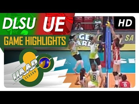UAAP 80 WV: DLSU vs. UE   Game Highlights   February 21, 2018
