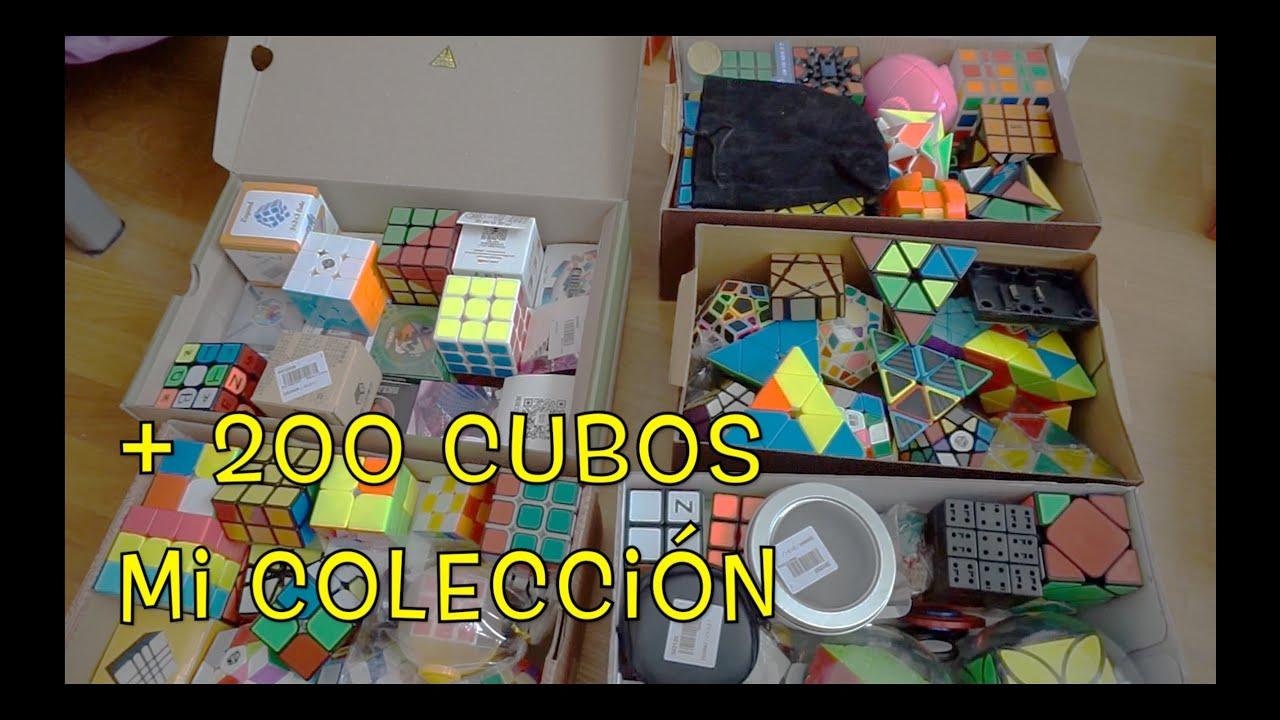 MI COLECCIÓN   +200 cubos   ¿Regreso a Youtube?