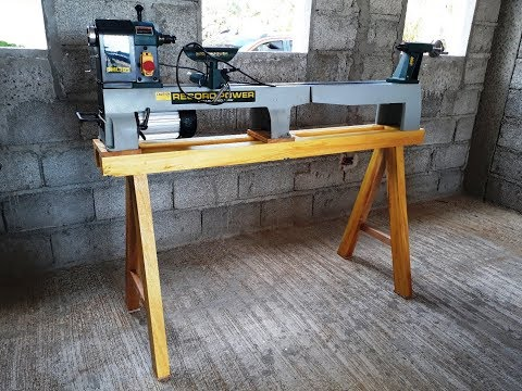 Stand for Woodturning Lathe - Full Build