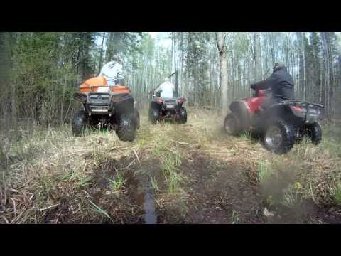 ATV Trail Riding Part 5