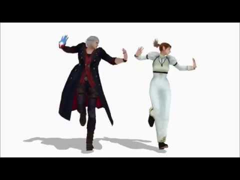 【Devil May Cry 4 MMD】Mr  Saxobeat 【Nero x Kyrie】