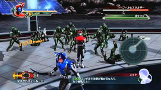 Kamen Rider Battride War 2 - Kabuto gameplay