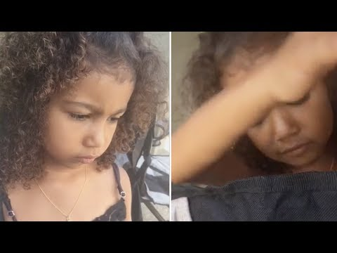 North West Throws TANTRUM On Kim Kardashian | FULL VIDEO