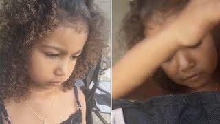 Video North West Throws TANTRUM On Kim Kardashian | FULL VIDEO download MP3, 3GP, MP4, WEBM, AVI, FLV Januari 2018