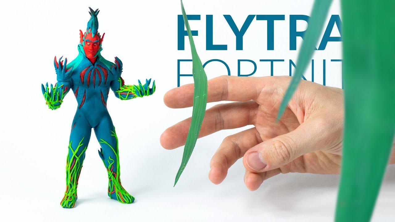 Flytrap Fortnite Battle Royale Polymer Clay Tutorial