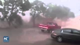 Hurricane Patricia makes landfall on Mexico's Pacific coast