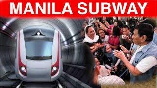 Metro Manila SUBWAY  Construction Sinimulan Na