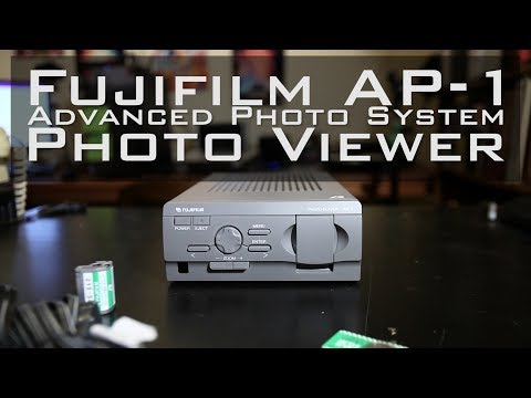Retro Unboxing - Fujifilm AP-1 APS Photo Viewer | Days of Knight 170704.3-056