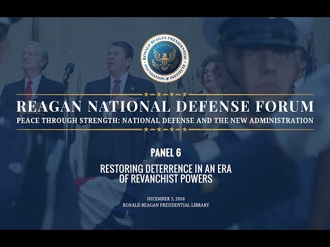 Panel 6 from 2016 Reagan National Defense Forum