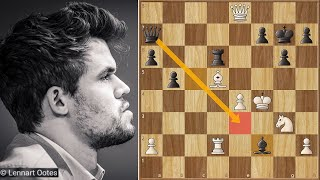 Checkmate in The Middle of The Board || Nepo vs Carlsen || Skilling Open Knockout (2020)