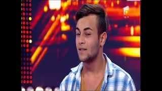 Ionuț Pîtea face show pe scena X Factor cu o melodie rock extrem de alertă