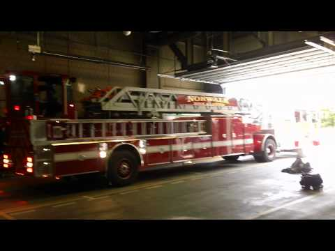 Norwalk CT. Fire Department Ladder 2