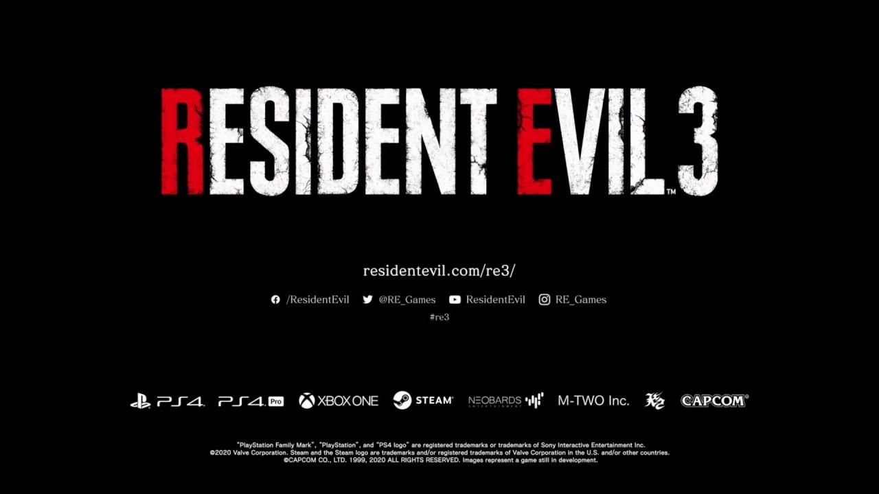 Resident Evil 3 Remake Classic Trailer