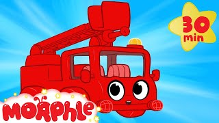 My Red Fire Truck - My Magic Pet Morphle Videos For Kids