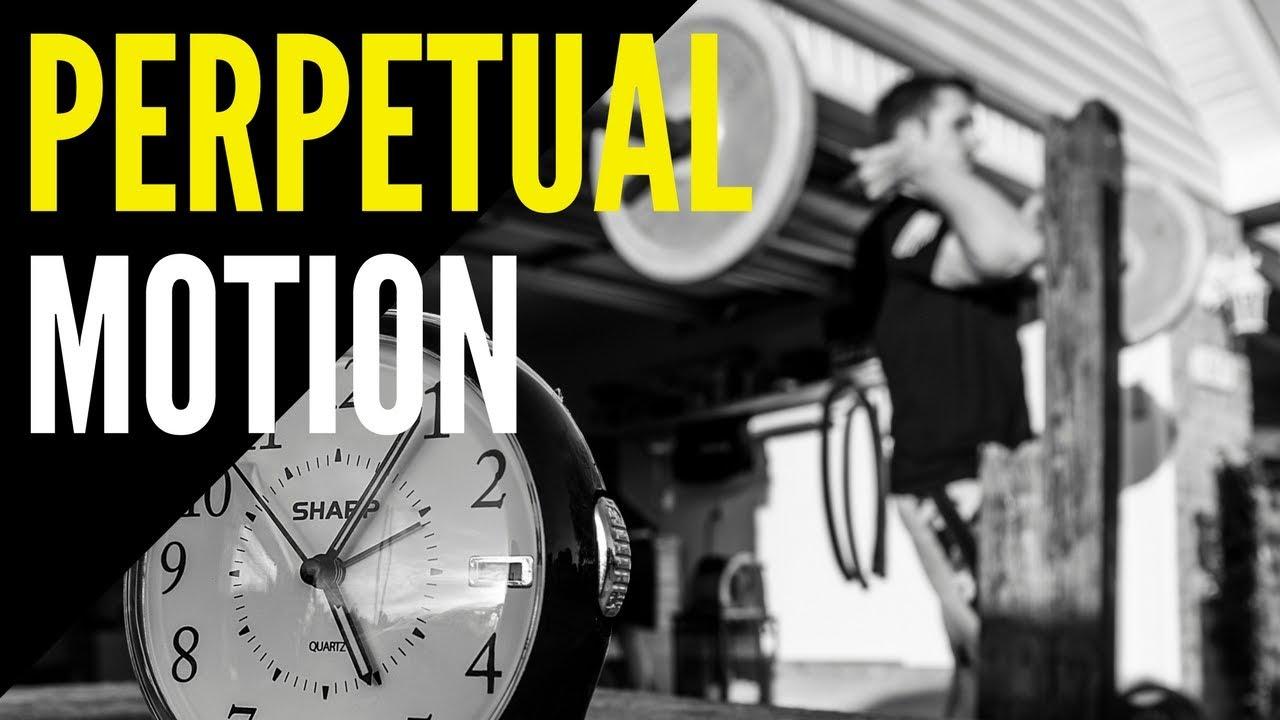 Perpetual motion garage gym workout youtube