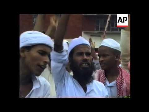 Bangladesh - Muslim Fundamentalists Rally