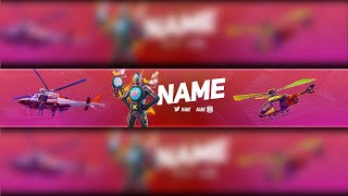 *FREE GFX* FORTNITE YOUTUBE BANNER FREE HITMAN SKIN | FORTNITE CHAPTER 2 SEASON 2